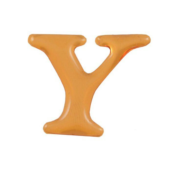 GU25-Y クリスタルメタル文字 ゴールドメタル文字