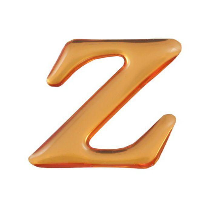 GU25-Z クリスタルメタル文字 ゴールドメタル文字