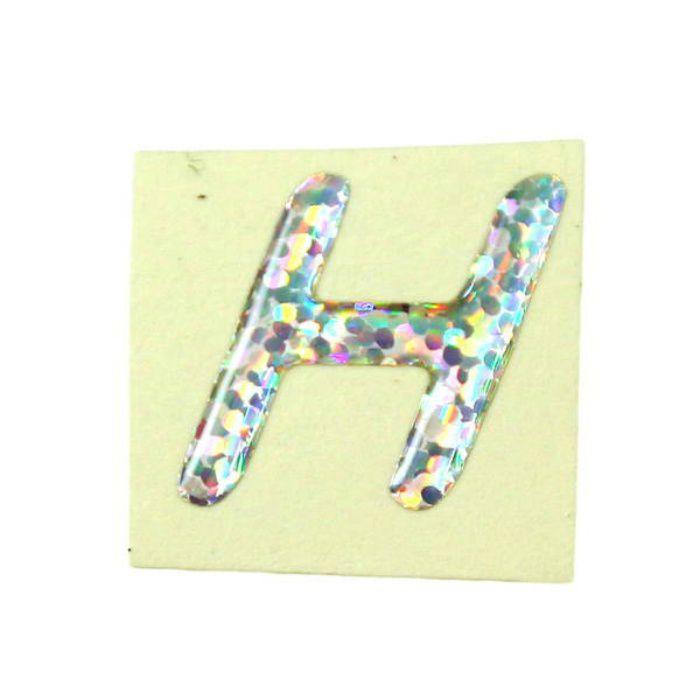 FM20-H クリスタルメタル文字 ホログラム文字