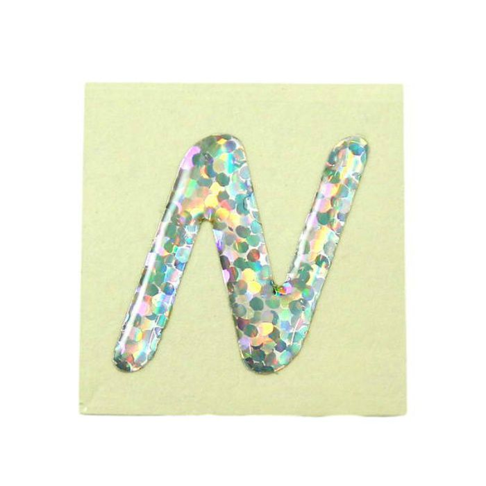 FM20-N クリスタルメタル文字 ホログラム文字