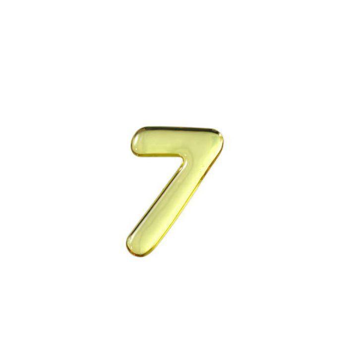 GM35-7 クリスタルメタル文字 メタリック文字 ゴールド 天地35mm