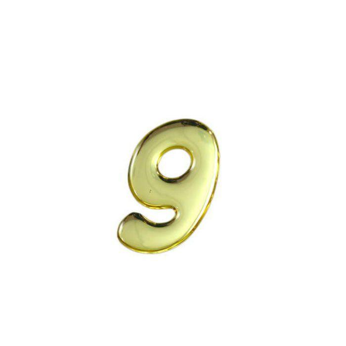 GM35-9 クリスタルメタル文字 メタリック文字 ゴールド 天地35mm