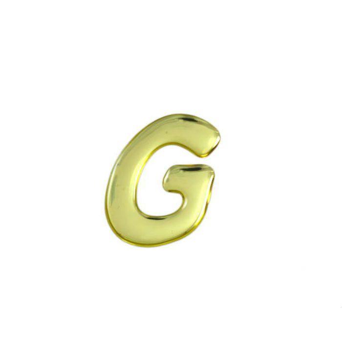 GM35-G クリスタルメタル文字 メタリック文字 ゴールド 天地35mm
