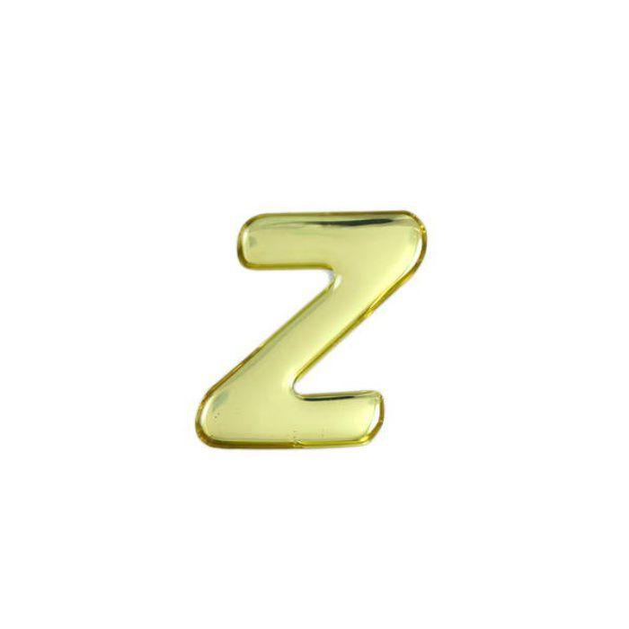 GM35-Z クリスタルメタル文字 メタリック文字 ゴールド 天地35mm