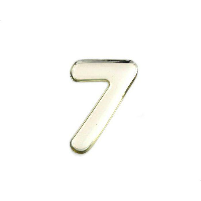 SM35-7 クリスタルメタル文字 メタリック文字 シルバー 天地35mm