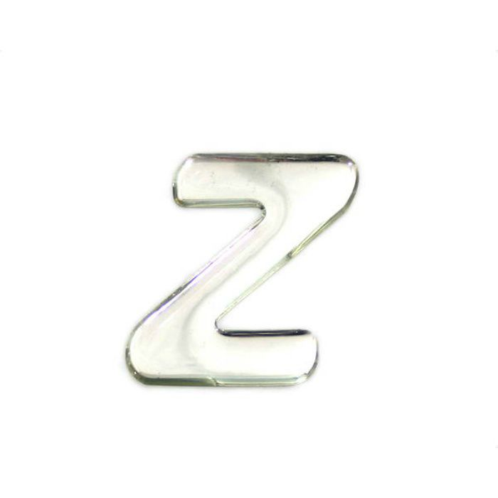 SM35-Z クリスタルメタル文字 メタリック文字 シルバー 天地35mm