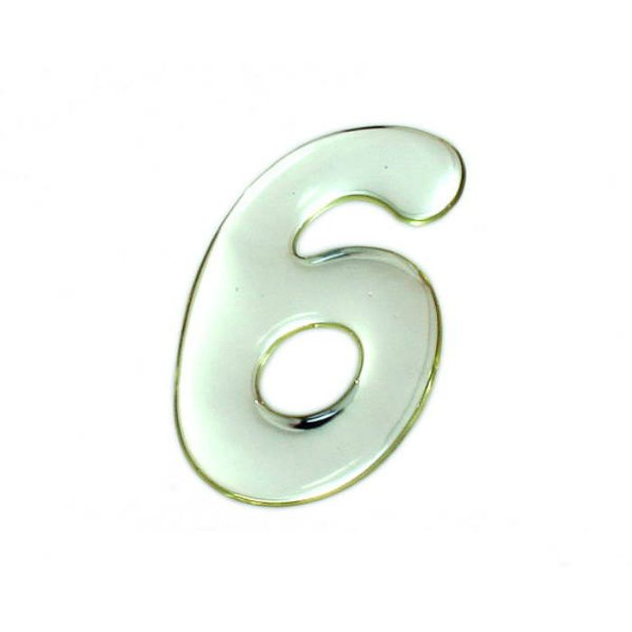 SM60-6 クリスタルメタル文字 メタリック文字 シルバー 天地60mm