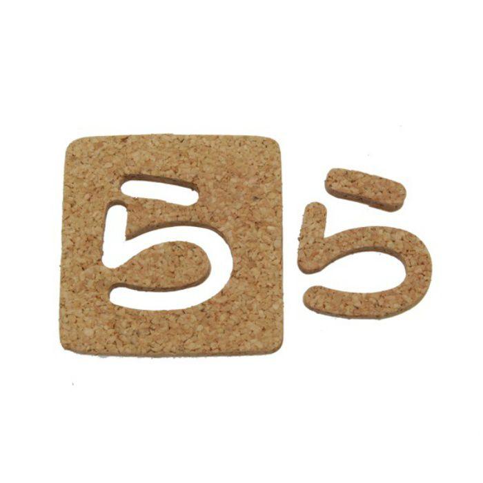 KB45-ラ コルク抜き文字