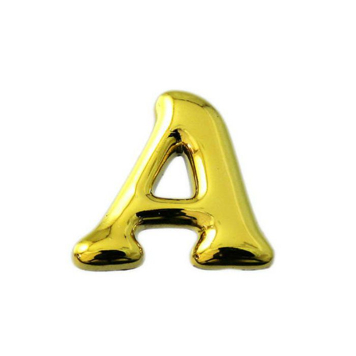 ABG20-A スピード文字 ゴールド文字 天地19~23mmX4mm
