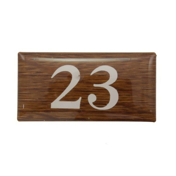 BJ24-23 クリスタルサイン テーブルナンバー オーク