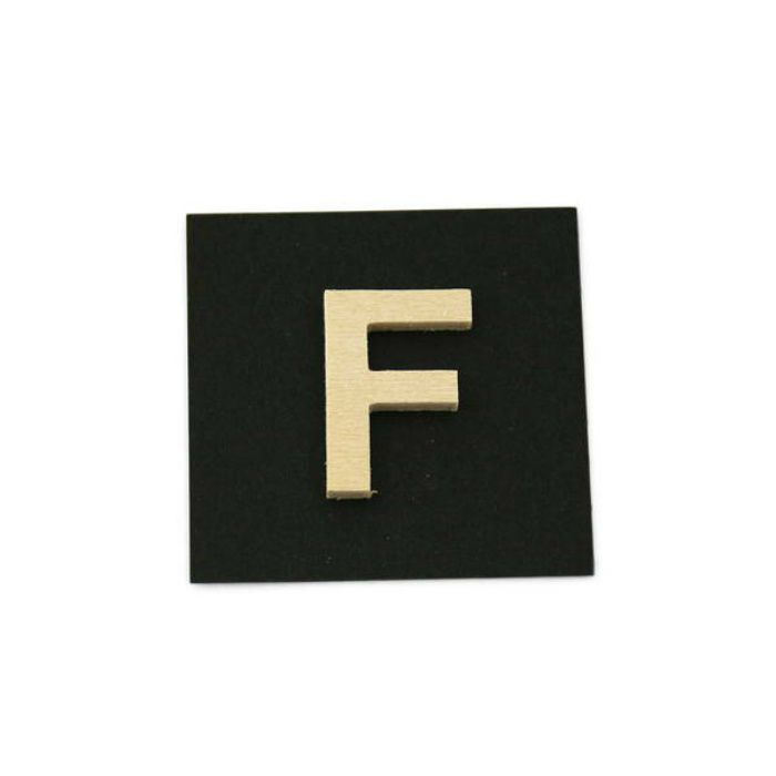 PSB25-F 木製文字 天地25mm