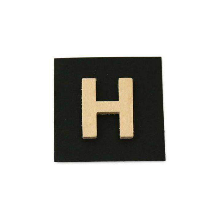 PSB25-H 木製文字 天地25mm