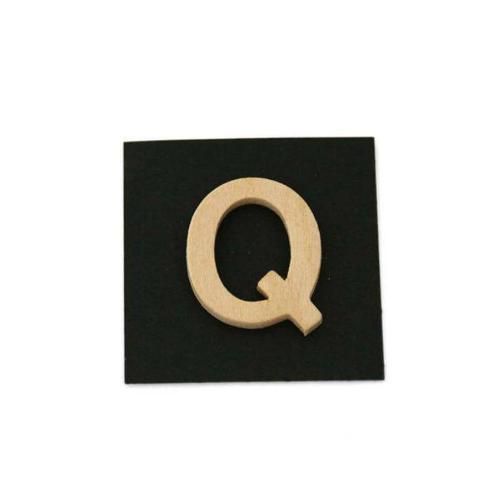 PSB25-Q 木製文字 天地25mm