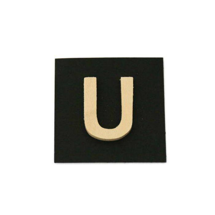 PSB25-U 木製文字 天地25mm