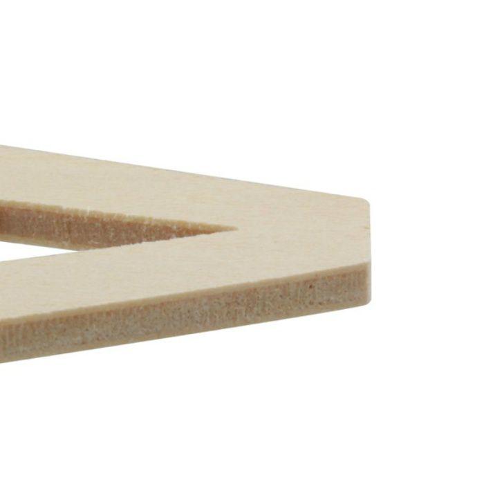 PSB40-K 木製文字 天地40mm
