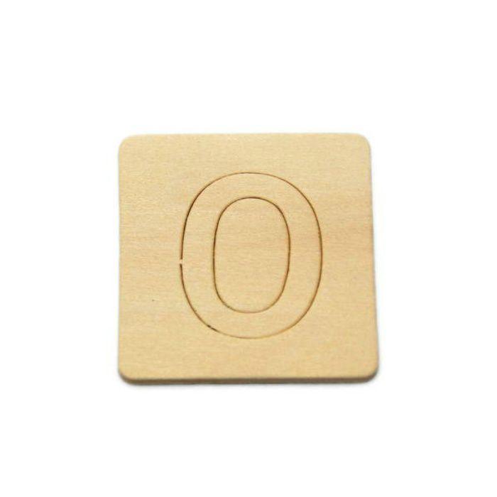 SB45-0 木製文字