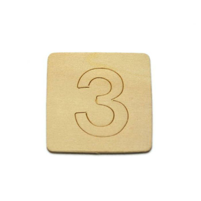 SB45-3 木製文字