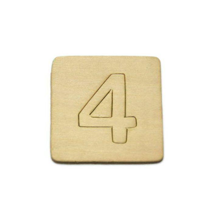 SB45-4 木製文字