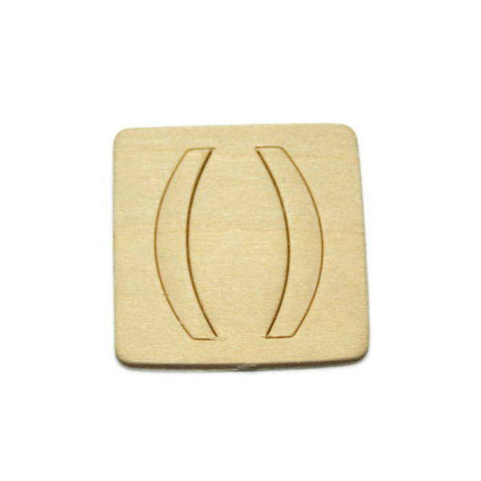 SB45-13 木製文字