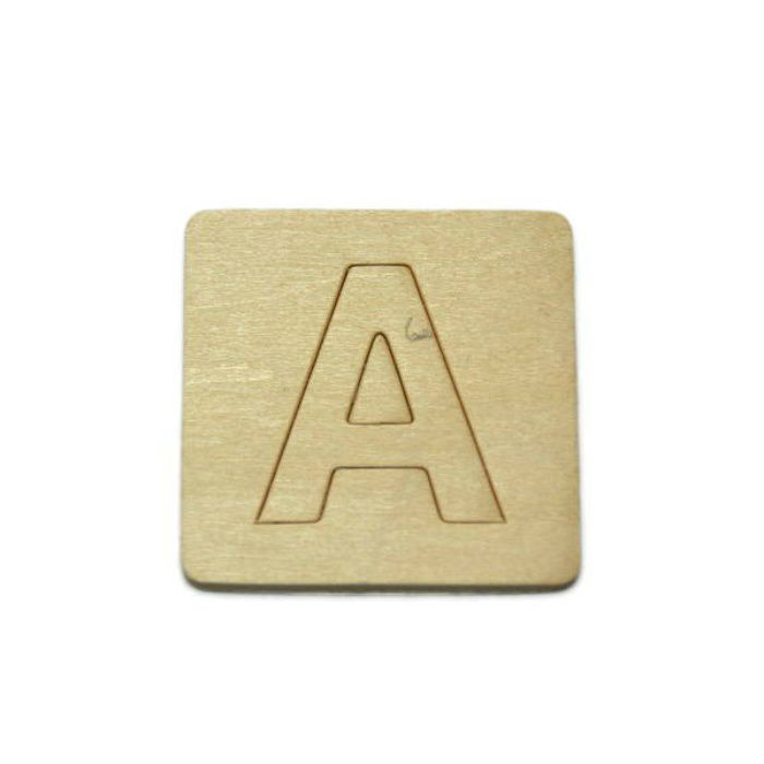 SB45-A 木製文字