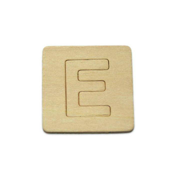 SB45-E 木製文字
