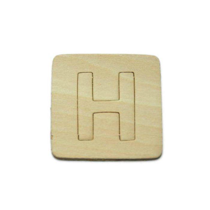SB45-H 木製文字