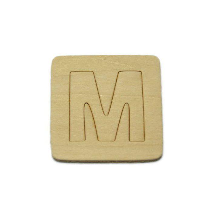 SB45-M 木製文字