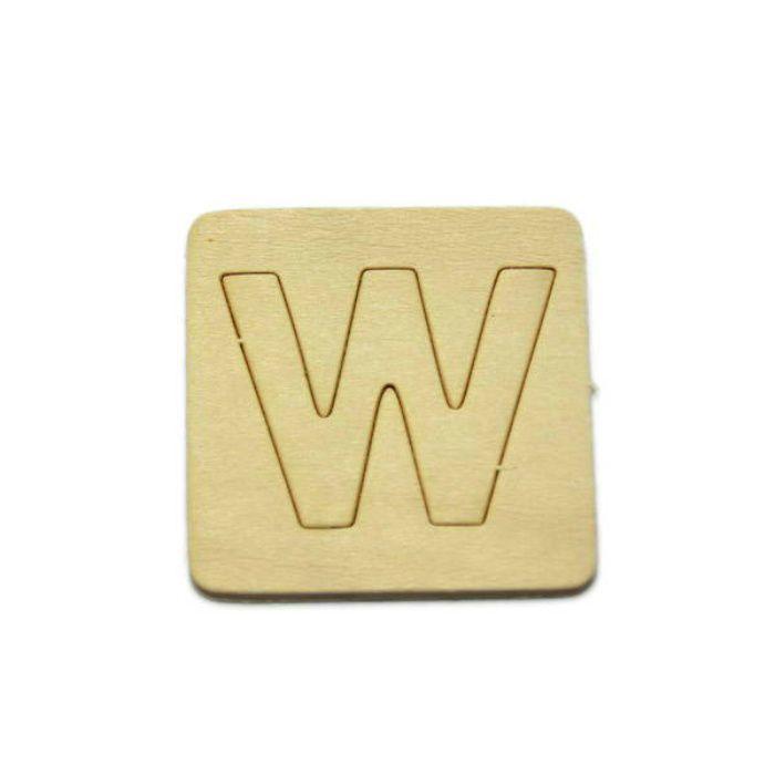 SB45-W 木製文字