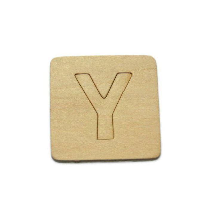 SB45-Y 木製文字