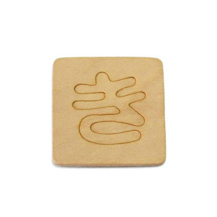 SB45-キ 木製文字
