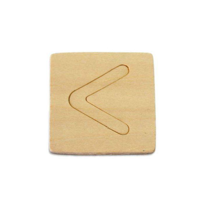 SB45-ク 木製文字
