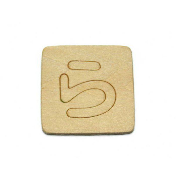 SB45-ラ 木製文字