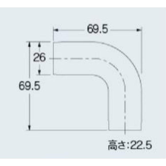 681-203 エルボカバー 平面用