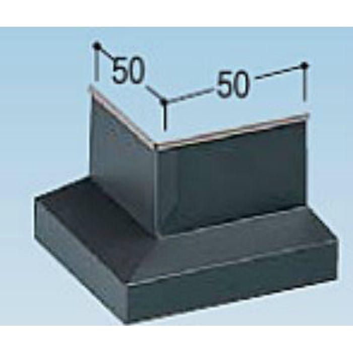 KMB35DL カラー鋼板水切防鼠付出隅 ライトシルバー
