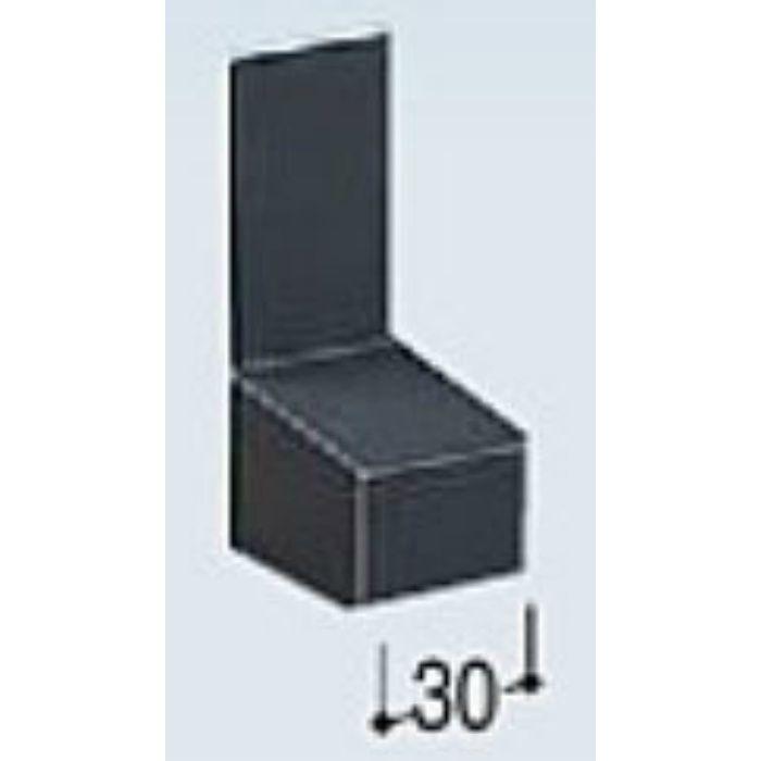 KMB35EL カラー鋼板水切防鼠付エンドキャップ ライトシルバー