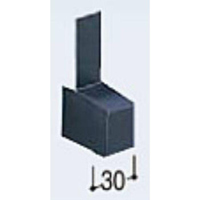 KMT30EL 通気水切30エンドキャップ ライトシルバー