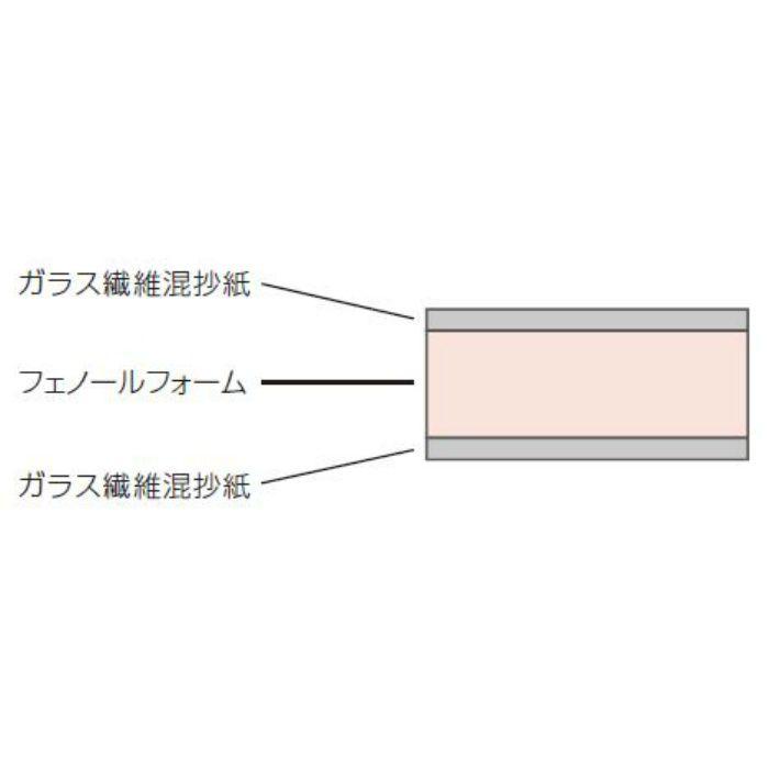 JL45N フェノバボードJ 3X6板 45X910X1820mm【壁・床スーパーセール】