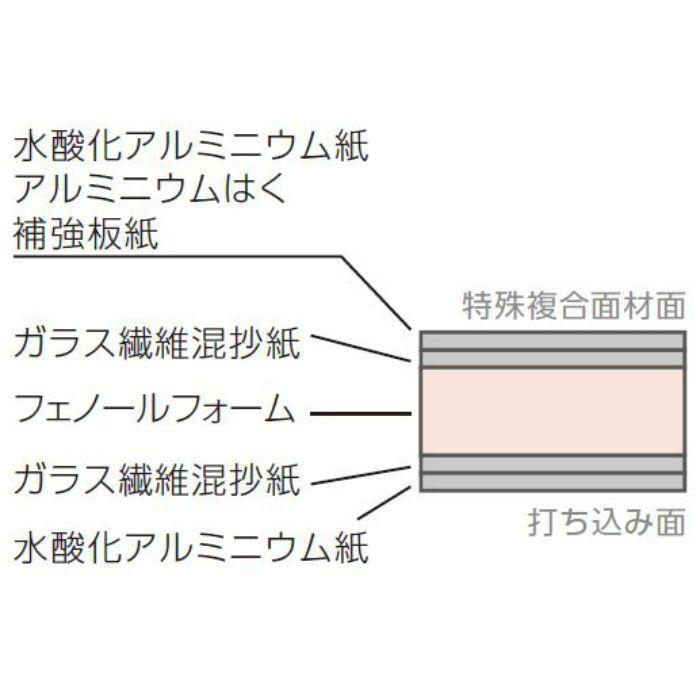 JH21NT フェノバボードウチコミフネンDF 3X6板 21X910X1820mm