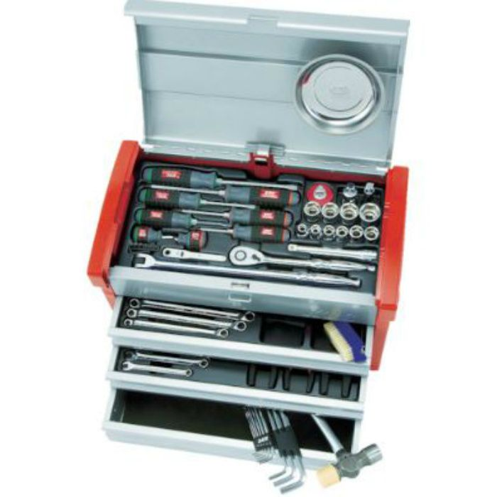 SK4580E KTC 工具セット チェストケース (差込角12.7mm) 59点セット