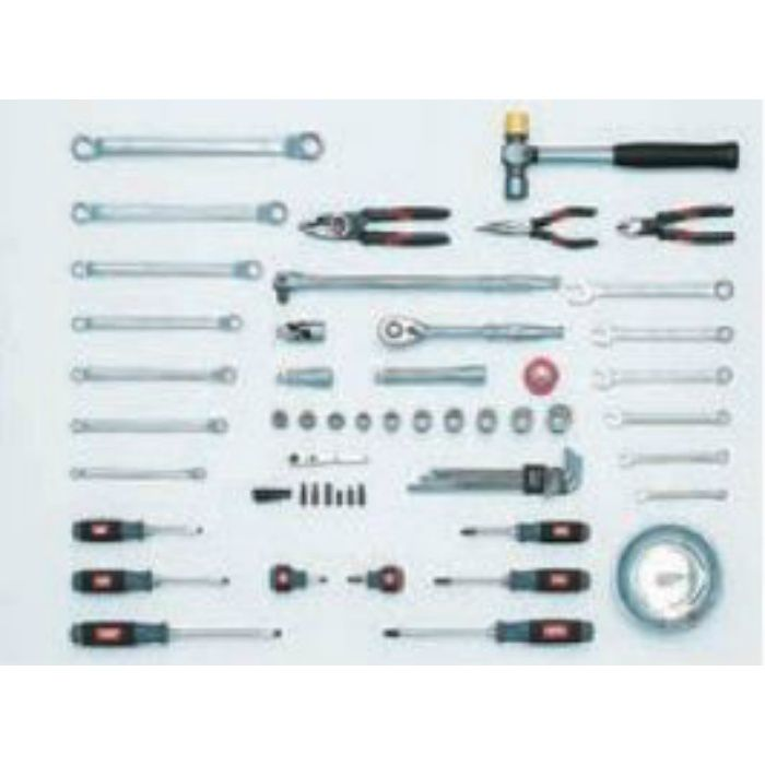 SK4586X KTC 整備工具セット チェストタイプ (差込角12.7mm) 58点セット