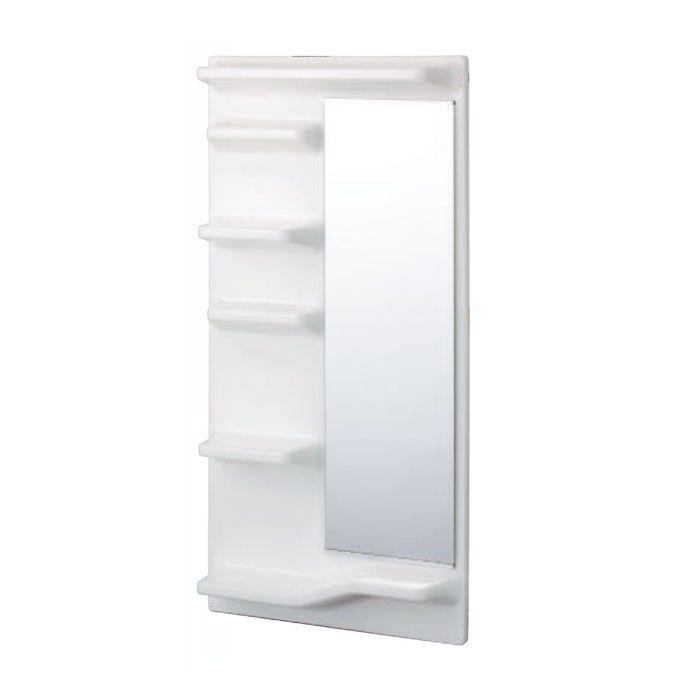 SFLPW 浴室収納 シェルファインL(棚左側タイプ) ピュアホワイト