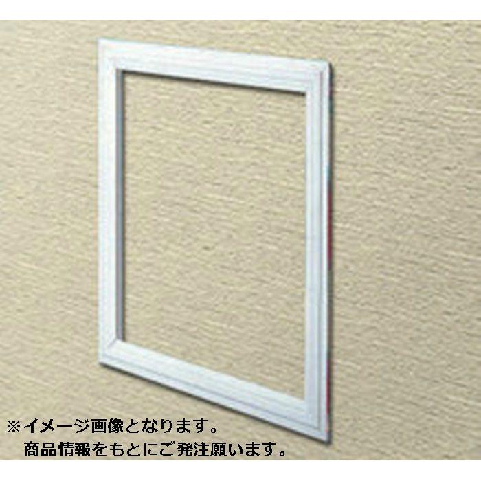 GS306-6 オフホワイト ビニール GS天井・壁用点検口枠 6mm用 300mm×600mm 64030
