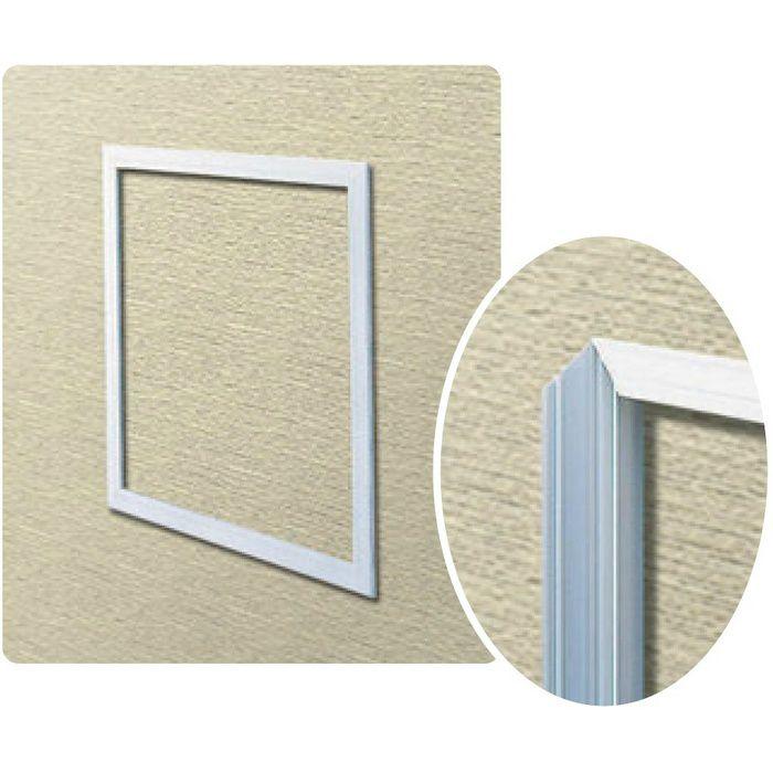WH150-9 ホワイト ビニール 壁用点検口枠 9.5mm用 62291