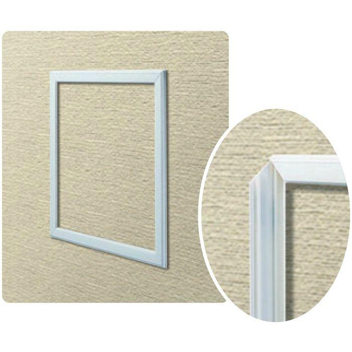 WS150-6 ホワイト ビニール 壁用点検口枠 6mm用 62309