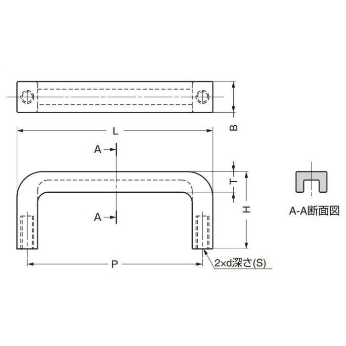 角型取手AKH型 AKH-130 100-019-801
