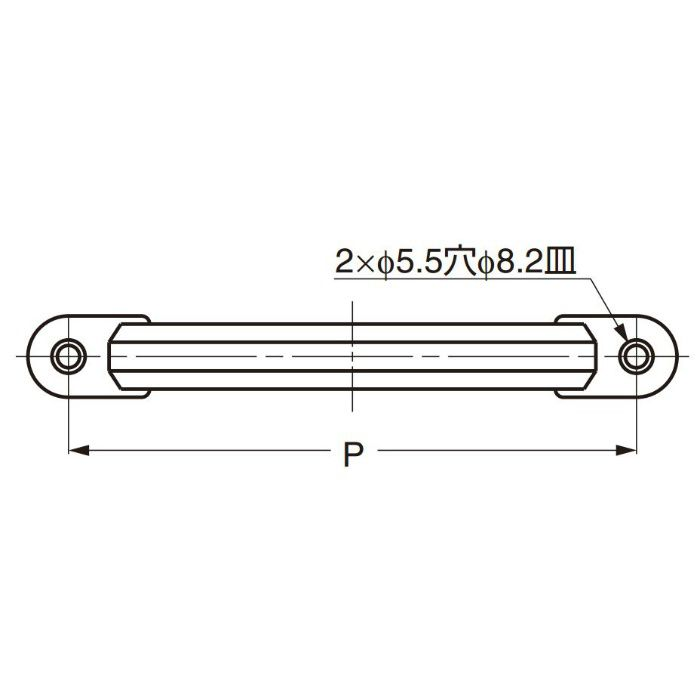 ランプ印ステンレス鋼製ハンドルXL-CUY型 XL-CUY120TT 100-012-834
