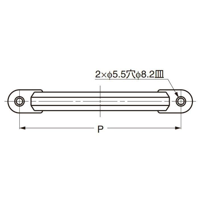 ランプ印ステンレス鋼製ハンドルXL-CUY型 XL-CUY190TT 100-012-837