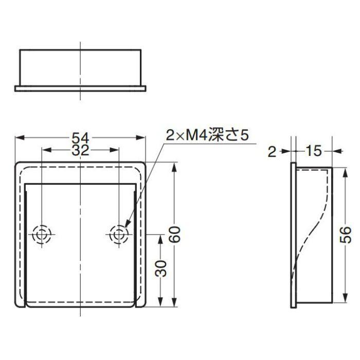掘込引手MN800Z32 MN800Z32 100-010-384