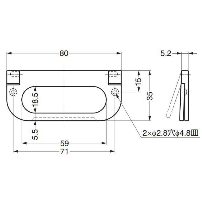 ハンドル3261型 3261500