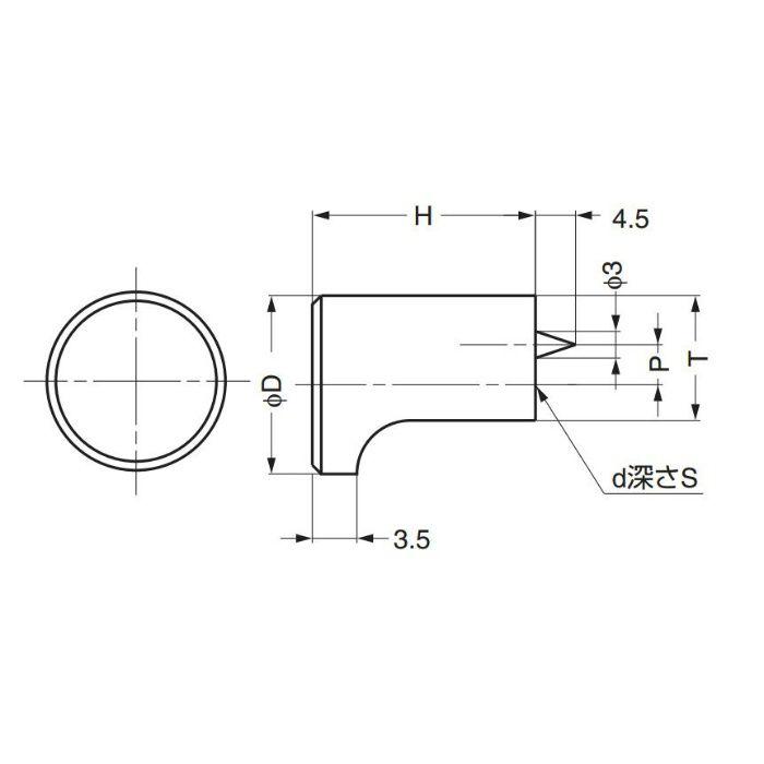 ランプ印つまみGLA型 GLA-12 100-010-718